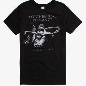 My Chemical Romance angel statue t-shirt